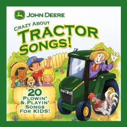 John deere crazy about tractor songs cd
