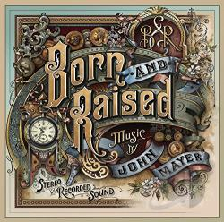Mayer, John - Born and Raised CD Cover Art