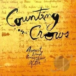 Counting Crows - August & Everything After CD Cover Art