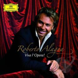 Alagna, Roberto - Viva l'Opera! CD Cover Art