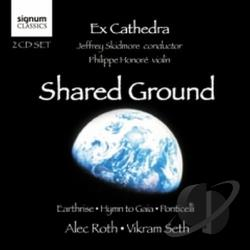 Honore / Skidmore - Alec Roth: Shared Ground CD Cover Art