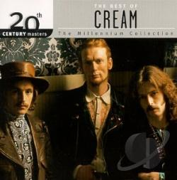 Cream - 20th Century Masters - The Millennium Collection: The Best of Cream CD Cover Art
