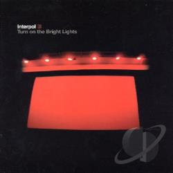 Interpol - Turn on the Bright Lights CD Cover Art