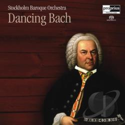 Bach / Stockholm Baroque Orchestra - Dancing Bach SA Cover Art