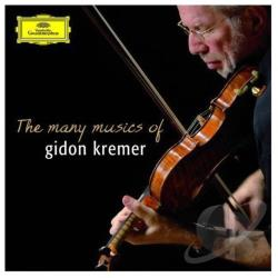 Kremer, Gidon - Many Musics of Gidon Kremer CD Cover Art