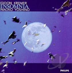 Kremer, G / Yoshino, N - Insomnia / Gidon Kremer, Naoko Yoshino CD Cover Art