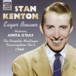 Kenton, Stan - Eager Beaver CD Cover Art