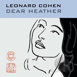 Cohen, Leonard - Dear Heather CD Cover Art