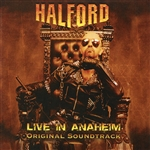 Halford - Live in Anaheim CD Cover Art