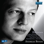 Boyde / Brahms - Brahms: Complete Works for Solo Piano, Vol. 5 CD Cover Art