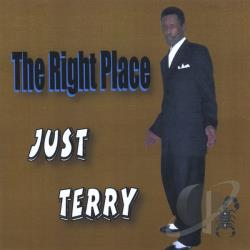Edwards, Terry - Right Place CD Cover Art