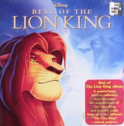 Best of the Lion King CD Cover Art