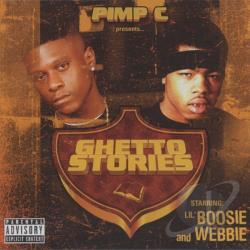 Lil Boosie & Webbie - Ghetto Stories CD Cover Art