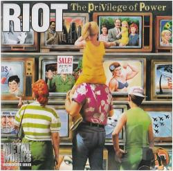 Riot - Privilege of Power CD Cover Art