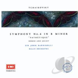 Barbirolli, John, Sir - Phoenixa Series- Tchaikovsky: Symphony no 6 / Barbirolli CD Cover Art