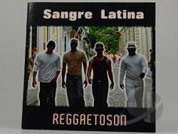 Sangre Latina - Reggaetoson CD Cover Art