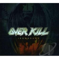 Overkill - Ironbound: Limited Digipack CD Cover Art