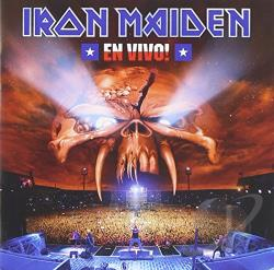 Iron Maiden - En Vivo! CD Cover Art