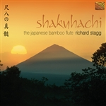 Stagg, Richard - Shakuhachi: The Japanese Bamboo Flute CD Cover Art