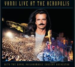Yanni - Live at the Acropolis CD Cover Art