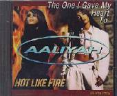 Aaliyah - One I Gave My Heart To CD Cover Art