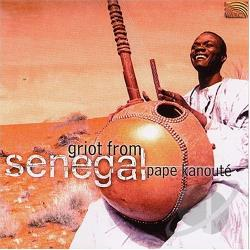 Kanoute, Pape - Griot from Senegal CD Cover Art