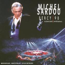Sardou, Michel - Bercy 98 CD Cover Art