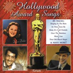 Hollywood Award Songs CD Cover Art