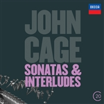 Tilbury, John - John Cage: Sonatas & Interludes CD Cover Art