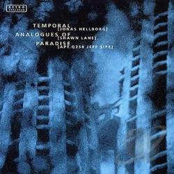 Hellborg, Jonas - Temporal Analogues of Paradise CD Cover Art