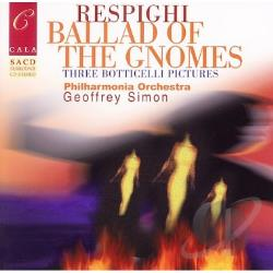Baillie / PAO / Respighi Pearson / Simon - Ballad Of The Gnomes CD Cover Art