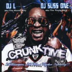 DJ L & Suss One - Crunk Time CD Cover Art