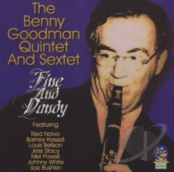 Goodman, Benny - Fine and Dandy CD Cover Art