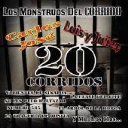 Carlos Y Jose - Los Monstruos Del Corrido CD Cover Art