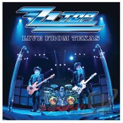 ZZ Top - Live from Texas CD Cover Art