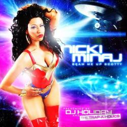 Minaj, Nicki - Beam Me Up Scotty CD Cover Art