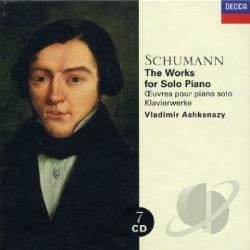 Ashkenazy / Schumann - Schumann: The Works for Solo Piano CD Cover Art