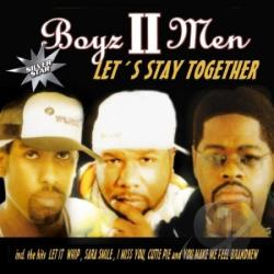 Boyz II Men - Let's Stay Together CD Cover Art