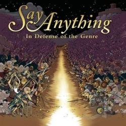 Say Anything - In Defence Of The Genre CD Cover Art
