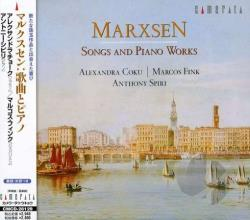 Coku, Alexandra - Marxsen:Songs & Piano Works CD Cover Art