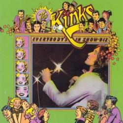 Kinks - Everybody's in Show-Biz CD Cover Art