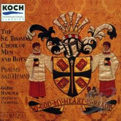 St. Thomas Choir Of - O God My Heart Is Ready CD Cover Art