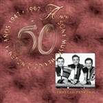 Trio Los Panchos - 50 Anos Sony Music Mexico CD Cover Art
