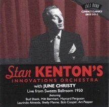 Kenton, Stan - Live from Sweets Ballroom CD Cover Art