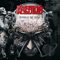 Kreator - Enemy of God CD Cover Art
