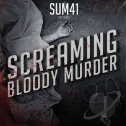 Sum 41 - Screaming Bloody Murder CD Cover Art
