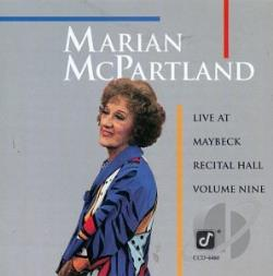 McPartland, Marian - Live at Maybeck Recital Hall, Vol. 9 CD Cover Art