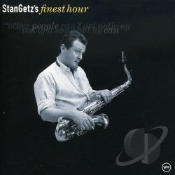 Getz, Stan - Stan Getz's Finest Hour CD Cover Art