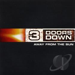 3 Doors Down - Away from the Sun CD Cover Art