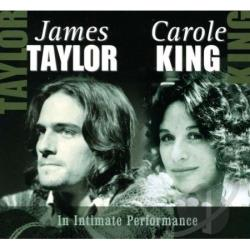 King, Carole / Taylor, James - In Intimate Performance CD Cover Art
